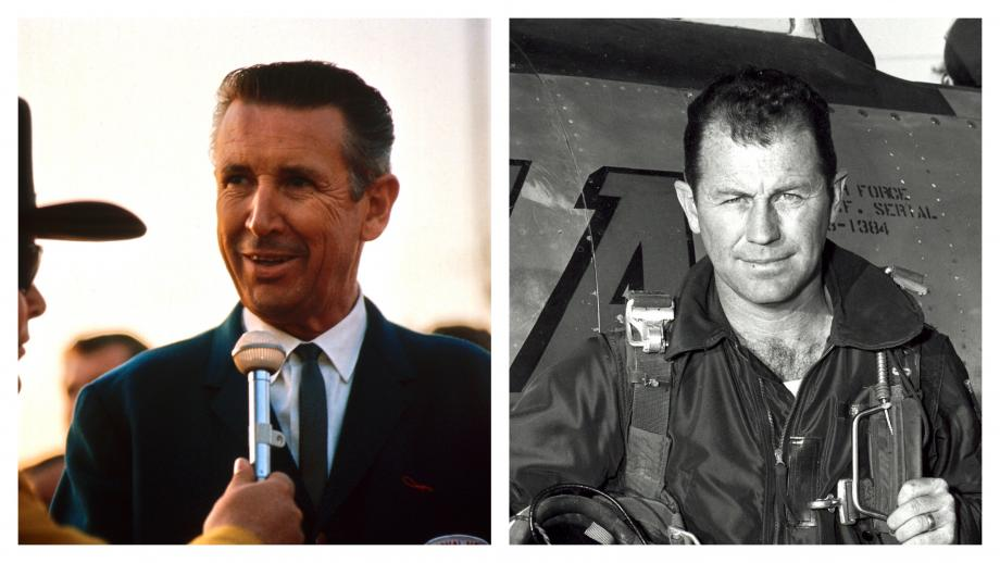 When Chuck Yeager and Wally Parks compared speed records from Muroc