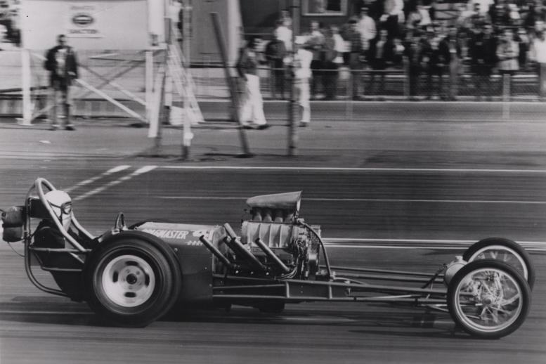 Max Wedge and the engine that won the '62 Winternationals