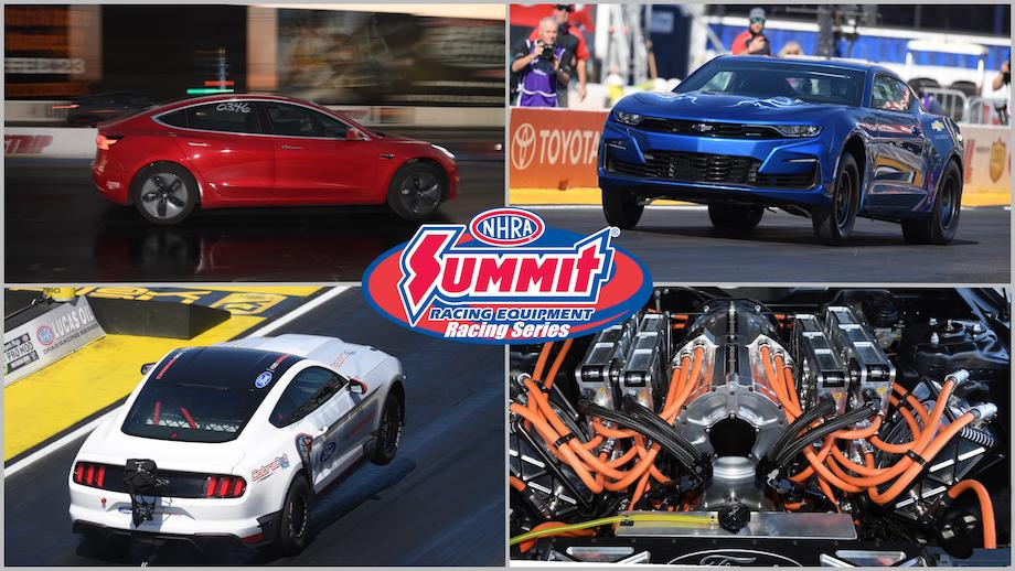 NHRA announces new electric vehicle racing class for 2022