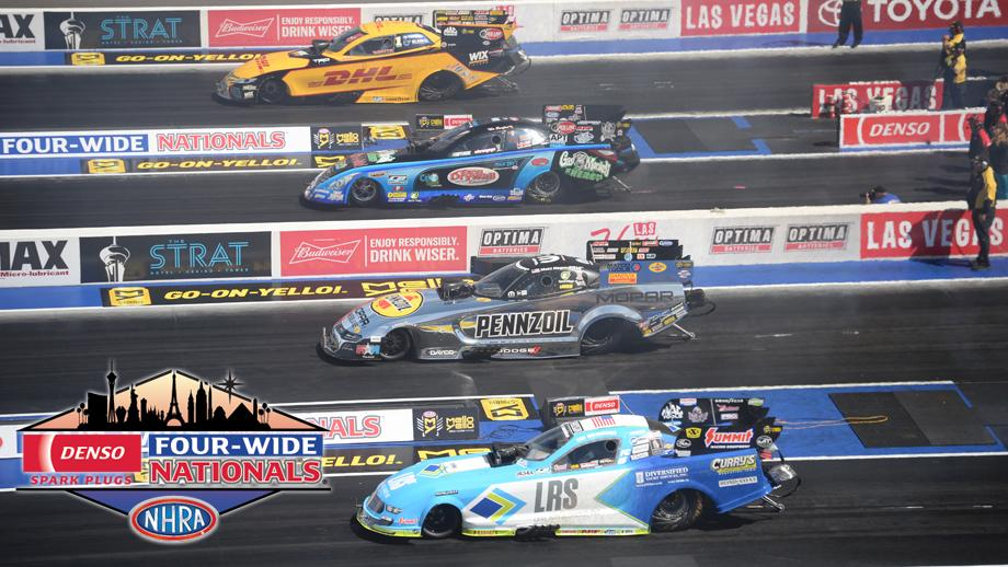 Denso Spark Plugs NHRA Four-Wide Nationals