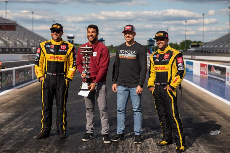 Toyota Racing Division (TRD) brought J.R. Todd, Bubba Wallace, Daniel Hemric, and Shawn Langdon to zMax-Winner