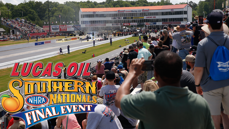Lucas Oil NHRA Southern Nationals Saturday preview
