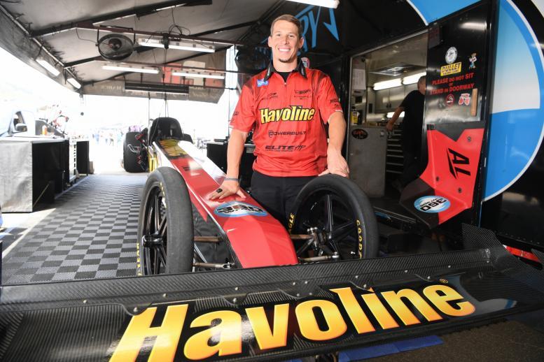 Alex Laughlin makes Top Fuel debut