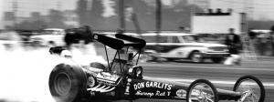 Don Garlits' Swamp Rat V at the 1963 Winternationals