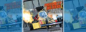 Leah Pritchett on the cover of National Dragster