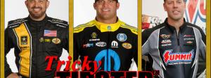 Tony Schumacher, Matt Hagan, and Jason Line