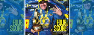 Ron Capps on National Dragster cover