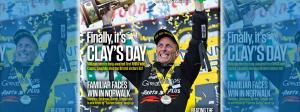 Clay Millican on National Dragster cover