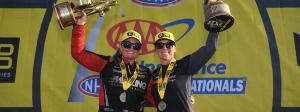 Karen Stoffer and Erica Enders