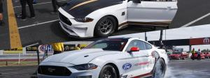 Ford Mustang Cobra Jet match race: Gas vs. Electric at the U.S. Nationals