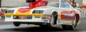 Southeast Nostalgia Pro Stock Series cars run at Amalie Motor Oil NHRA Gatornationals