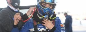 Leah Pruett and the The modern drag racing helmet