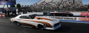 Tom Bailey and Rod Tschiggfrie brought their street-registered tube-chassis cars to the 2021 Amalie Oil NHRA Gatornationals for a match race that ended in flames.