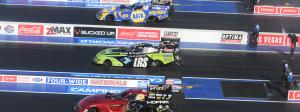 2021 Las Vegas 4-Wide Racing NHRA