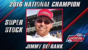 Super Stock champ Jimmy DeFrank season recap