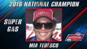 Super Gas champ Mia Tedesco season recap