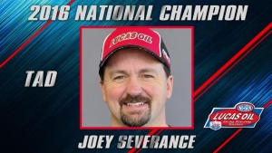 Alcohol Dragster champ Joey Severance season recap