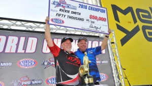 Rickie Smith crowned 2016 J&A Service Pro Mod Series Champion