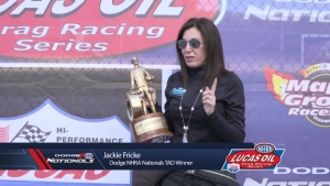 Dodge NHRA Nationals Alcohol Dragster winner
