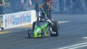 AAA Insurance NHRA Midwest Nationals Top Dragster winner