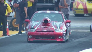 AAA Insurance NHRA Midwest Nationals Super Stock winner