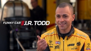 J.R. Todd talks about his move to Funny Car