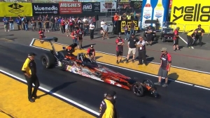 NHRA Arizona Nationals Top Dragster champ Grant Durie