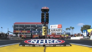 NHRA Arizona Nationals Stock winner Kyle Rizzoli