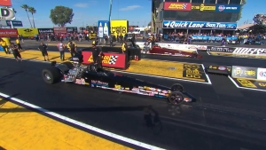 NHRA Arizona Nationals Super Comp winner Val Torres Sr.
