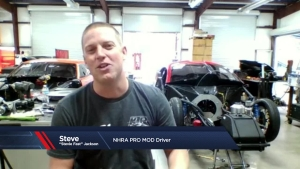 """NHRA Today: Stevie """"Fast"""" Jackson interview"""