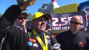 At the Amalie Motro Oil NHRA Gatornationals John Force takes home his 148th win of his career.
