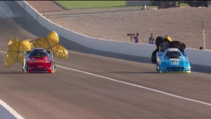 Courtney Force powers to the No. 1 in Las Vegas