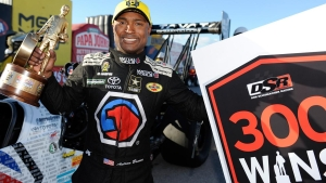 Matco Tools driver Antron Brown races to victory in Las Vegas