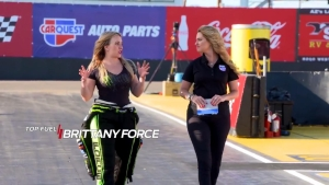 Walk 1000ft with Brittany Force