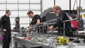 JFR works overtime to prepare Brittany Force's chassis
