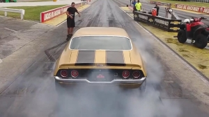 Papa John Ready For Rematch With Leah Pritchett at Route 66 NHRA Nationals