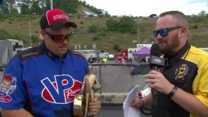 NHRA Thunder Valley Nationals Super Comp winner David Morris