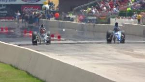 Summit Racing Equipment NHRA Nationals Super Comp winner Nick Folk