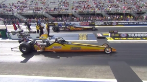 NHRA Thunder Valley Nationals Top Dragster winner Aaron Stanfield