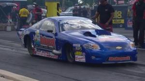 Summit Racing Equipment NHRA Nationals Comp winner Bruno Massel