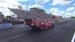 Summit Racing Equipment NHRA Nationals Top Alcohol Funny Car winner Andy Bohl