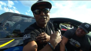 How Antron Brown Riles the Competition In the Staging Lanes