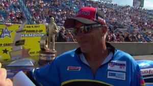 Fallen Patriots NHRA Route 66 Nationals Top Sportsman winner Mark McDonald