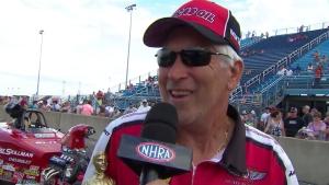 Fallen Patriots NHRA Route 66 Nationals Comp winner David Rampy