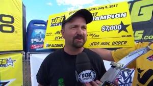 JEGS Allstars Top Alcohol Dragster winner Joey Severance