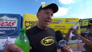 JEGS Allstars Top Alcohol Funny Car winner Andy Bohl