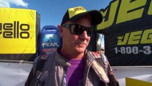 JEGS Allstars Top Dragster winner Steve Furr