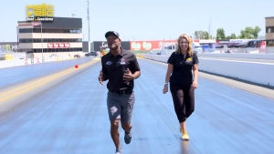 Walk 1,000 Feet with Antron Brown