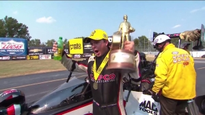 Chevrolet Performance U.S. Nationals Top Fuel champion Steve Torrence interview