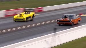 Chevrolet Performance U.S. Nationals Super Gas champ Kevin Adams